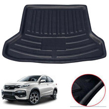 For HONDA HR-V HRV VEZEL 2014-2018 Car Cargo Liner Interior Accessories Rear Trunk Mat Protective Car-covers Styling