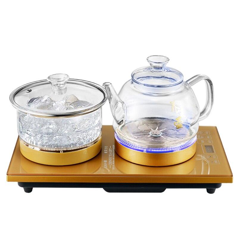 В нижней части воды, электрический чайник Весна котел бутылка чая плита набор безопасность автоматическое отключение Функция