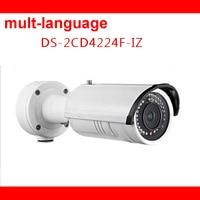 DS 2CD4224F I Original Hikvision 2MP Full HD IR Bullet Camera WDR 3DNR P66 Mult Language