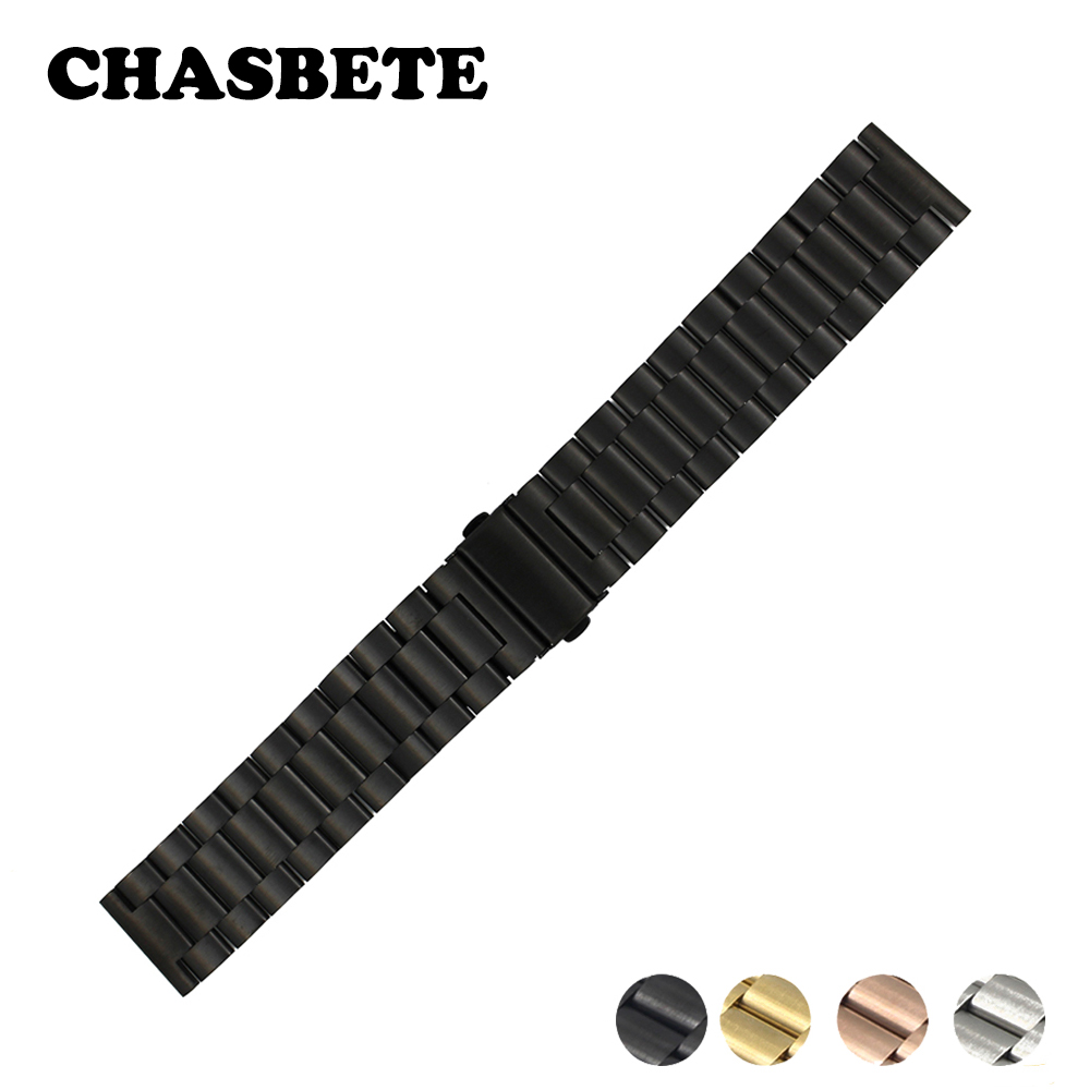 43d6981b724 18mm 20mm 22mm 23mm 26mm Stainless Steel Watch Band for Seiko Quick Release  Metal Strap Wrist