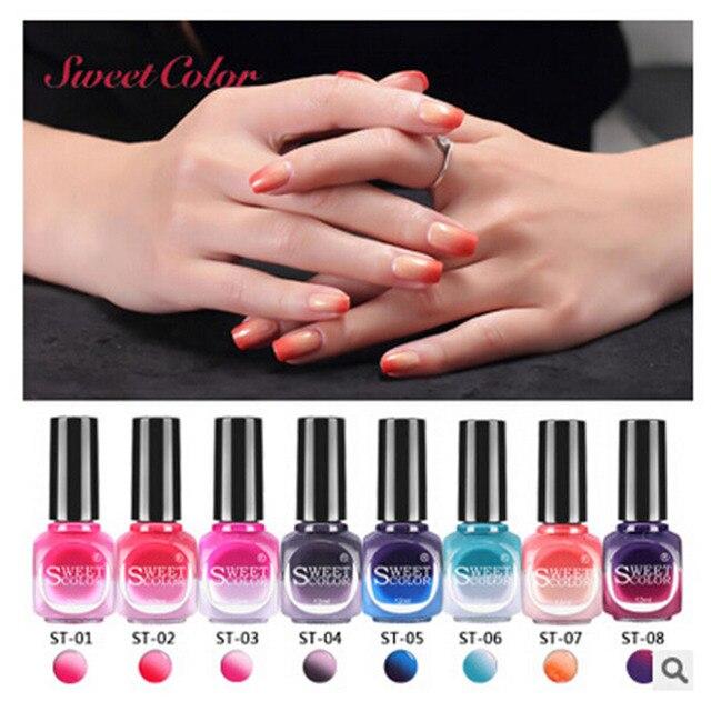 Eco friendly Temperature Changing nail polish Color Nice Nail Polish ...