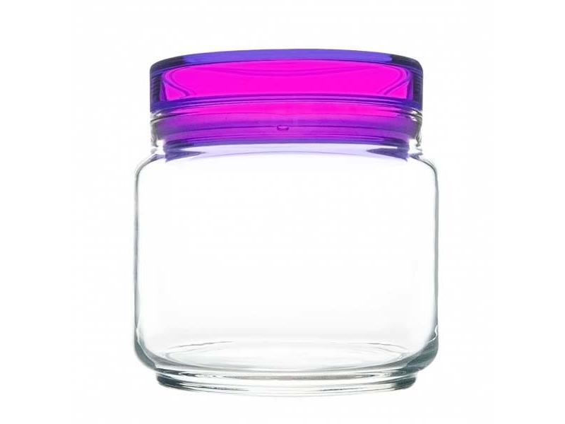 Bank for bulk Luminarc, Colorlicious Violet, 0,5 L банка для сыпучих продуктов luminarc colorlicious violet 0 5 л