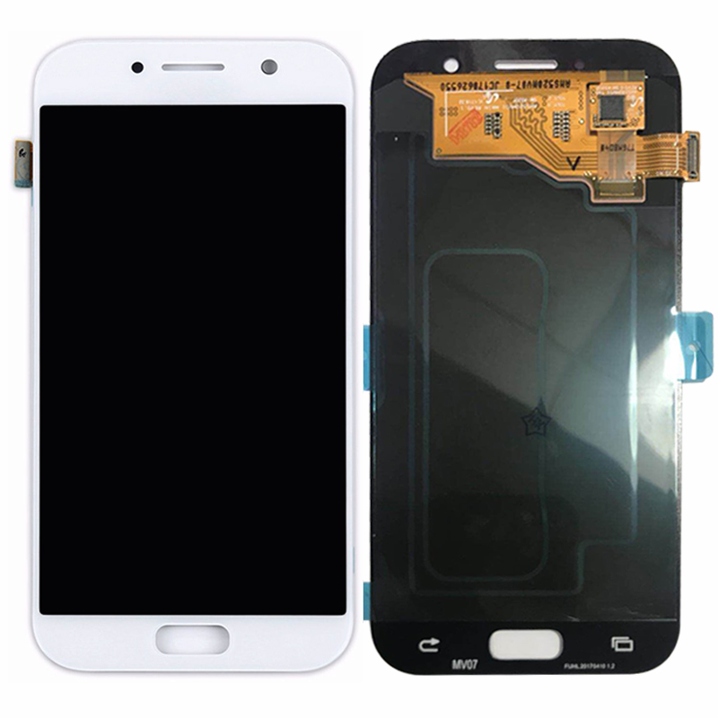 A520 Super Amoled LCD Compatible For Samsung Galaxy A5 2017 LCD A520 A520F SM-A520F Display Assembly Replacement