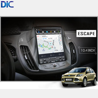 DLC Android 6.0 GPS navigation player Car Styling radio vertical screen mirror link video audio For ford Kuga Escape 2013 2017