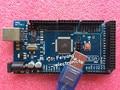 Mega2560 R3 (com LOGOTIPO) MEGA 2560 ATmega2560-16AU R3, ATMEGA16U2-MU (10 pcs Board + 10 pcs Cabo USB) 2560 mega para Arduino