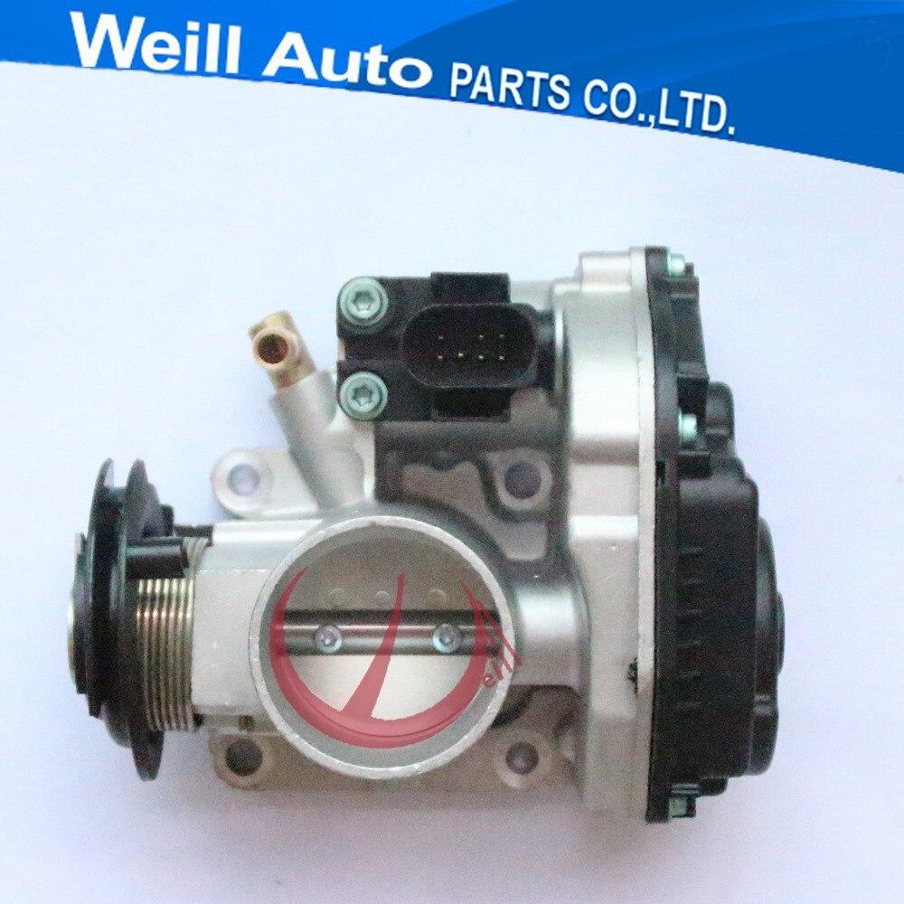 цена на 44mm Bore Diameter Case For VW Seat Lbiza Leon Skoda Bora Golf Lupo Polo Throttle Body Valve 030133064F 408237130004Z