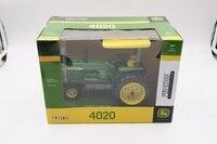 ERTL 1:16 Престиж Коллекция трактор john deere 4020 Diesel литья под давлением Металл игрушки автомобиля