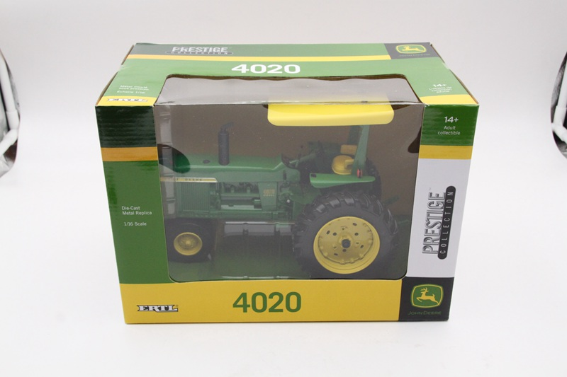 ERTL 1:16 PRESTIGE Collection JOHN DEERE 4020 Tractor Diesel Diecast Metal Toys Car цена