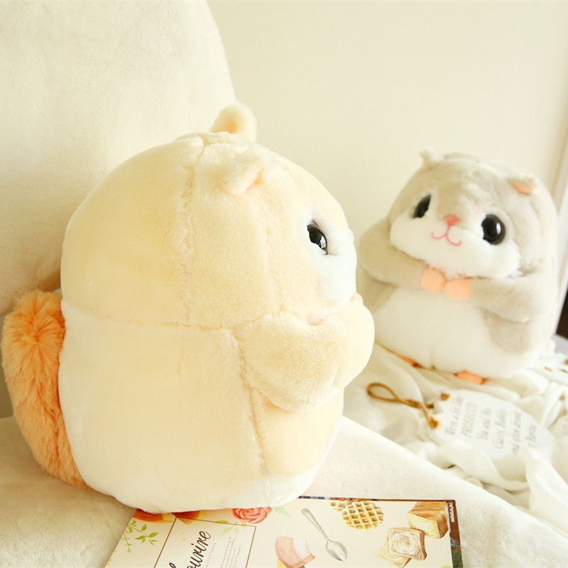 1pc 35cm Kawaii Flying Squirrel Plush Toys Staffed Animal Doll Cute Chipmunk Hamster Toys For Children Kids Gifts Soft Pillows