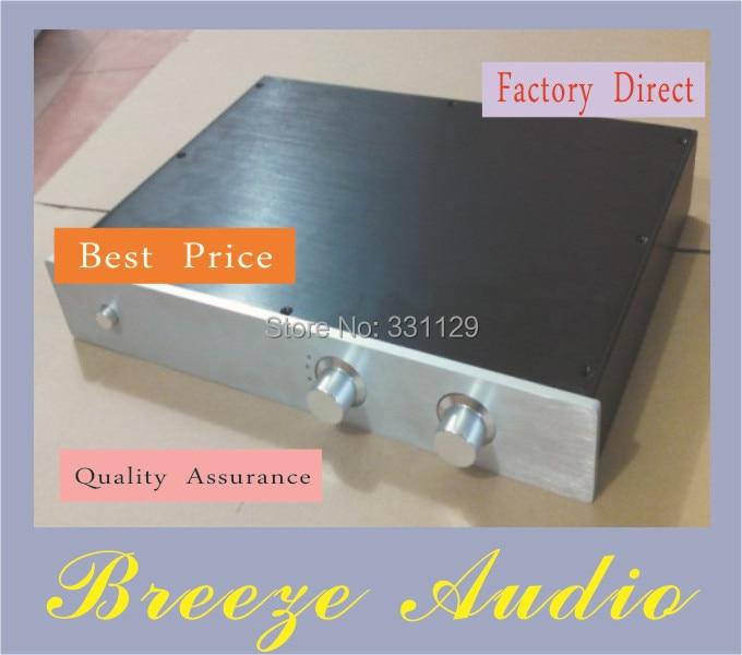 Breeze Audio-4307 preamp aluminum chassis (aluminum enclosure) A full refined version breeze audio aluminum chassis 4308 preamp aluminum enclosure
