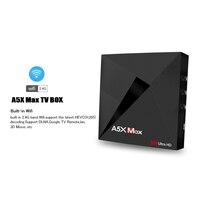 android 4 2 L8STAR A5X MAX Android 9.0 4GB 32GB TV BOX RK3328 4K BT 4.1 USB 3.0 2.4G WiFi 100M Lan Smart Media Player HD2.0 OTT TV BOX (3)