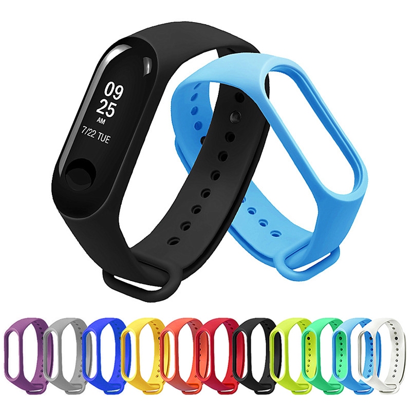 Strap Mi-Band Bracelet Watch Miband3-Accessories Soft-Silicone Sport Xiomi for 3-Mi3