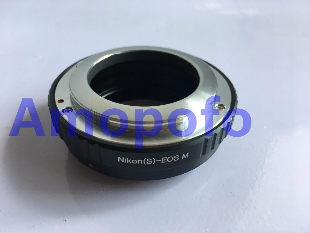 Amopofo AI S EOSM font b Adapter b font For Nikon S Microscope font b lens