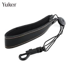Yuker Universal Adjustable Strap For Alto Tenor Saxophone Sax 18.89″-24.80″ PU Synthetic Leather Neck padded Black Light-weight