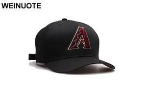 69fd7f47d2b WEINUOTE Men s Sport Baseball Black Brim Caps Hat