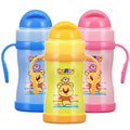 Baby Sippy Cups Neprolevayki Copo Azul Baby Training Cup Drinkware Geometric Phthalate Free Other 160Ml Water Bottle Training
