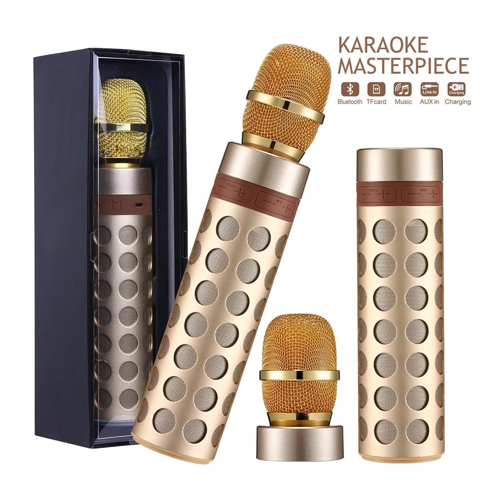 Lunir Wireless Bluetooth Microphone Audio Mobile Phone Karaoke Microphone Microphones