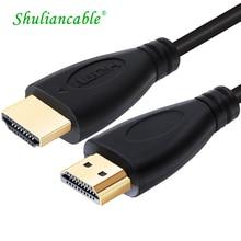 SL HDMI Kabel 1m 2m 3m 5m 7,5 m 10m Stecker auf Stecker Vergoldet HDMI 1,4 V 1080P 3D für PS3 projektor HD LCD Apple TV computer kabel
