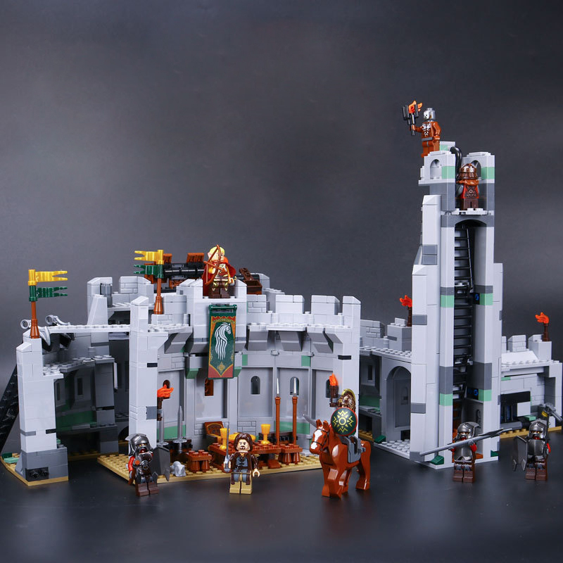16013 Castle Knights The Lord of the Rings Series The Battle Of Helm' Deep Model Building Blocks Bricks Toys For Kids 9474 Lepin hot sale the hobbit lord of the rings mordor orc uruk hai aragorn rohan mirkwood elf building blocks bricks children gift toys