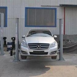 Samochodowe urządzenia podnoszące typ ekonomiczny zwykły podnośnik z dwoma słupkami podwójna kolumna urządzenie do podnoszenia 4.5 ton windy samochodowej