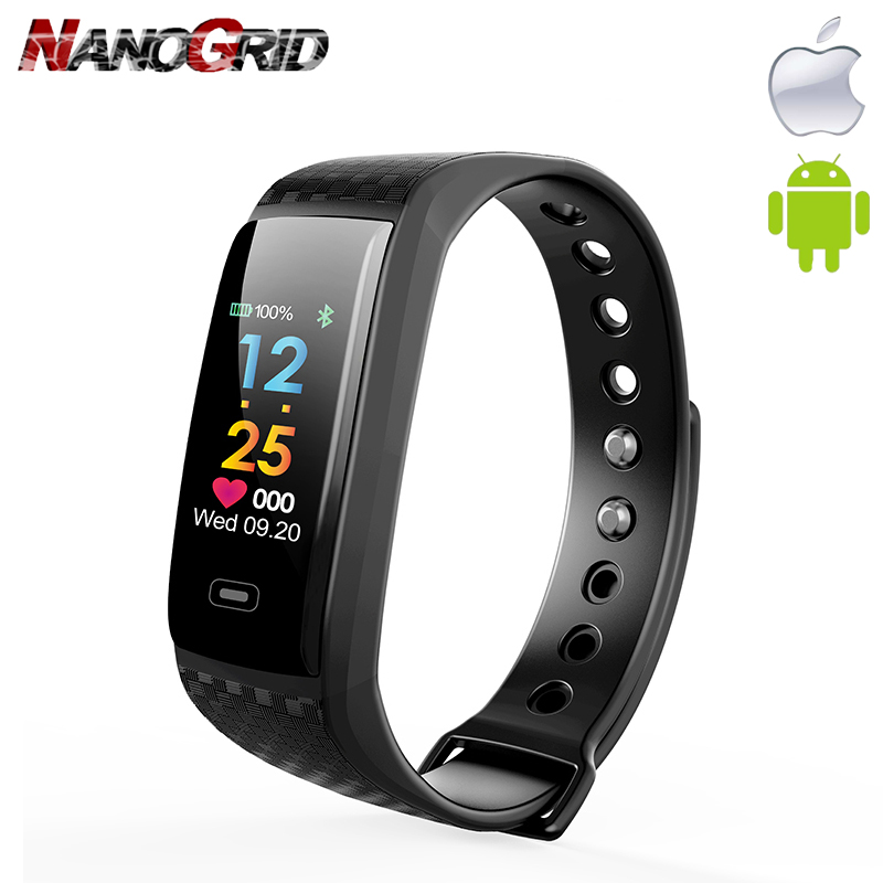 New Smart watch Hartslagmeter and Blood pressure testing sport watch - Men's Watches