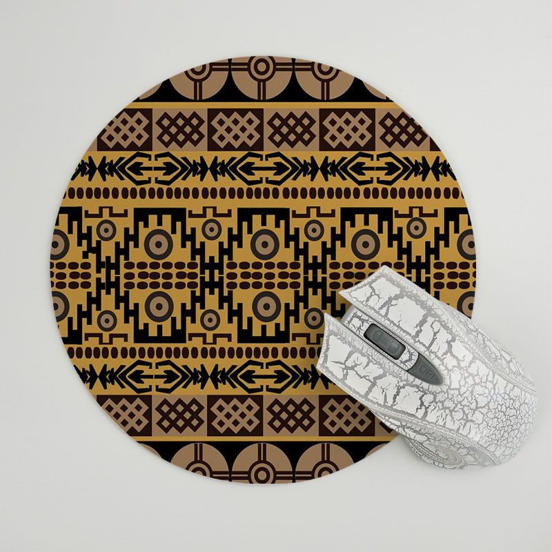 MaiYaCa My Favorite African carpet pattern Customized laptop Gaming mouse pad Size for 20x20cm and 22x220cm Round Mousemats