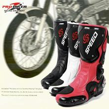 Pro Biker Nuevo de Alta calidad de La Manera de La Motocicleta Botas Zapatos Moto de Motocross Off-Road Racing Protector Gear 3 colores