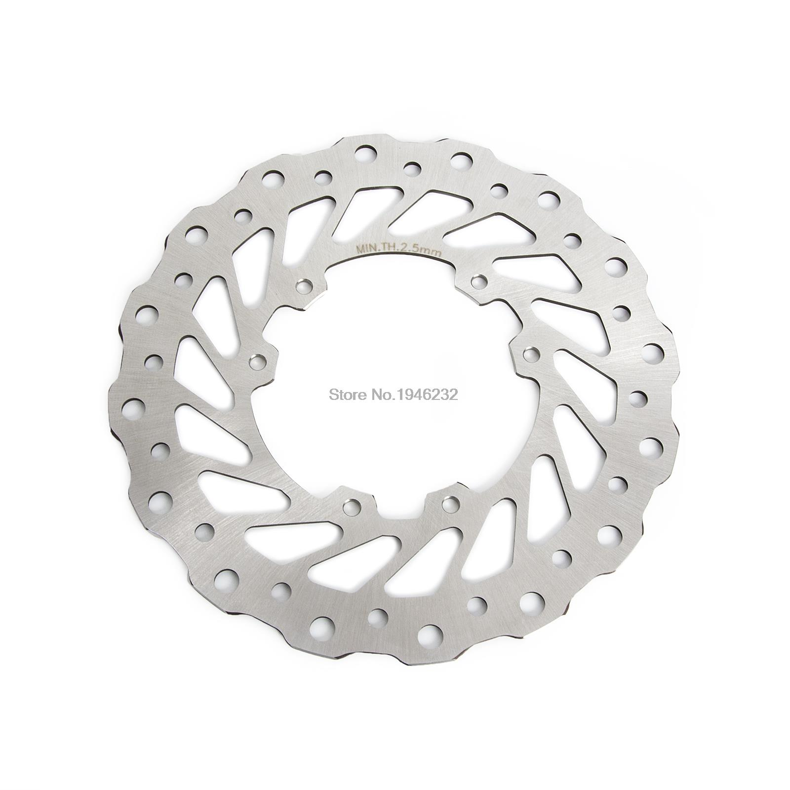 Metallic Front Brake Disc Rotor  For Honda 125cc CR 125 CR250 1995-2007 CRF250 CRF450 2004-2014 CR 500 1995-2001 накладки на пороги honda cr v ii 2001 2007 carbon