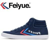 Feiyue Original 17 New High Knight Sneakers Classical Shoes Martial Arts Taichi Taekwondo Soft Comfortable Shoes
