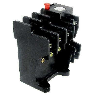 1 NO 1 NC AC Thermal Overload Relay 4.5-7.2A 20A 660V 10A/380V 3 pole ac 0 63a 1a electric thermal overload relay 1 no 1 nc