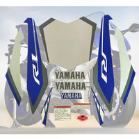 Motorcycle For Yamaha YZF1000 R1 15 YZF 1000 2015 15 R1 Fairing Sticker Kit Applique High Quality Whole Vehicle Decal