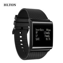HLTON Smart Bluetooth Wristbands Health Activity Tracker Heart Rate Calorie Blood Oxygen Monitor Smart Band Watch Bracelet