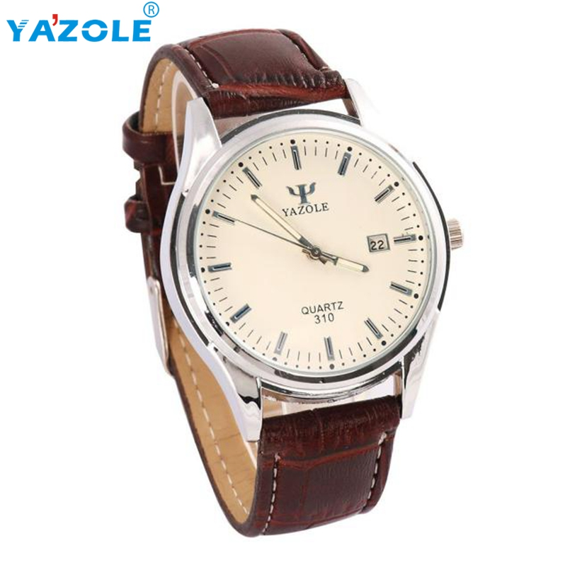 YAZOLE Wrist Watch Men Luxury Wristwatch Male Clock Quartz Watch Hodinky Quartz Watch Relogio Masculino s2