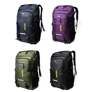 Image 3 - 80L Unisex Mannen Rugzak Travel Pack Sporttas Pack Waterdichte Outdoor Bergbeklimmen Wandelen Klimmen Camping Rugzak Voor Mannelijke