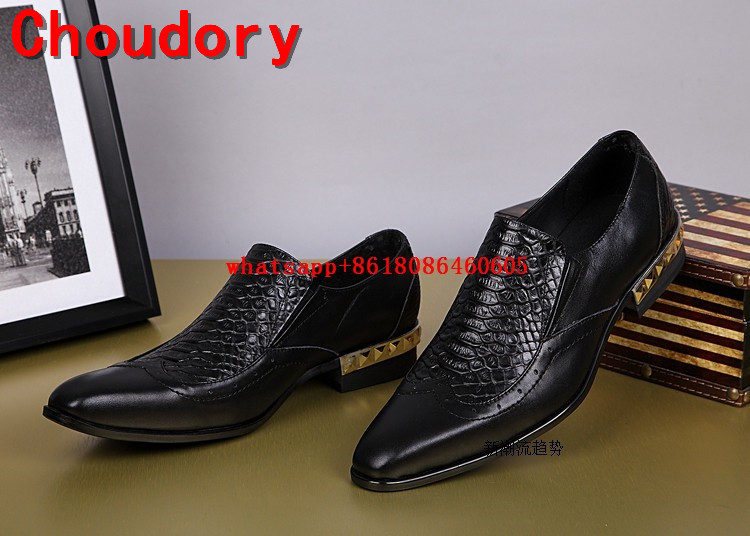 Здесь продается  Choudory python skin Slip On Men Loafers 2017 Fashion Square Toe Dress Oxfords Outwear Breathable Casual Shoes Men Party Loafers  Обувь