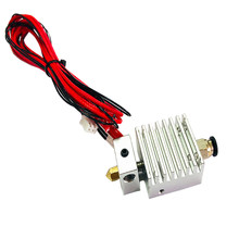 For TEVO Tarantula Tornado Extruder E3D Hotend 1.75MM with MK8 0.4mm Nozzle with 12V heater cartridge Thermistor 3D Printer Part(China)