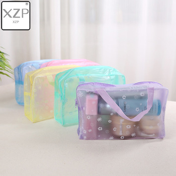 XZP 2019 New Fashion Waterproof Portable Makeup Cosmetic Toiletry Travel Makeup Cosmetic Wash Toothbrush Pouch Organizer Bag