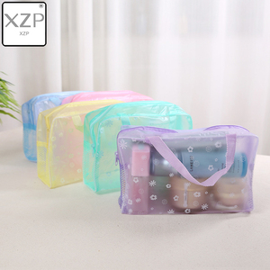 XZP 2019 New Fashion Waterproof Portable Makeup Cosmetic Toiletry Travel Makeup Cosmetic Wash Toothbrush Pouch Organizer Bag(China)