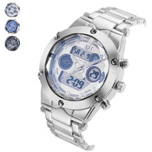Simple Fashion Men Wristwatch Alloy Clock Waterproof Quartz Watch Man Sport Casual Watches LXH