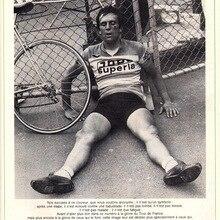 1978 : Faineant Tour Francia ciclismo deportes de bicicleta pegatinas de pared clásicas lienzo póster Vintage de pintura hogar Bar decoración regalo