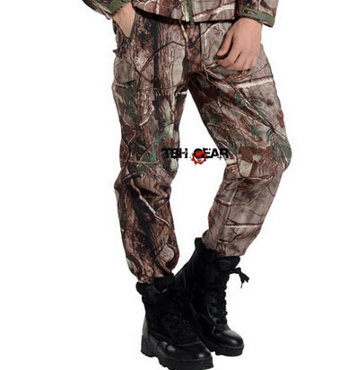 Softshell Hunting Camouflage Pants Realtree Pants In Realtree Xtra Camo+Free shipping(SKU12050462) windproof realtree camouflage suits wild hunting clothing oem vision