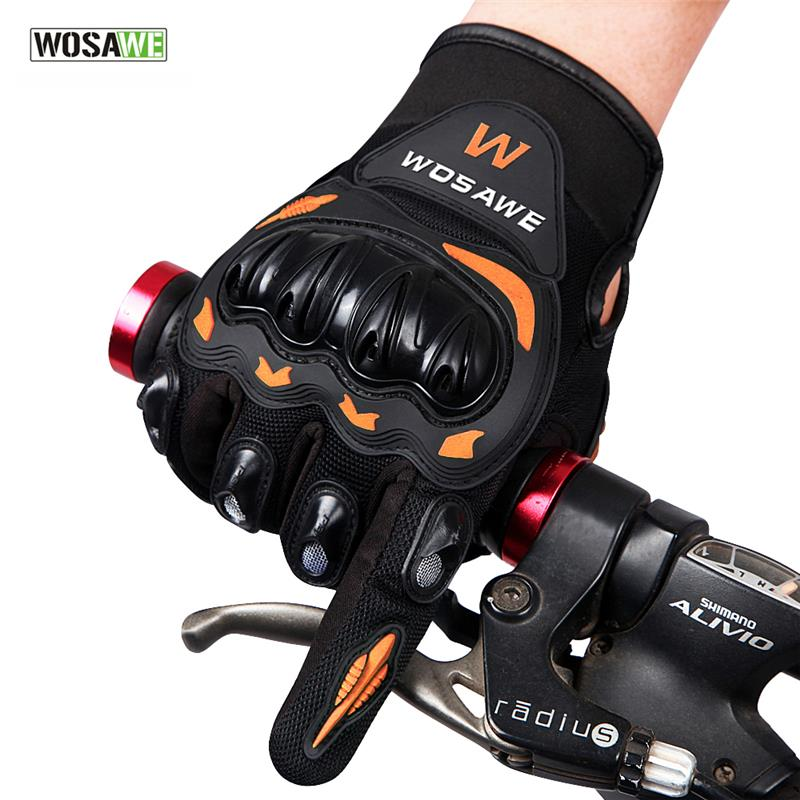 <font><b>WOSAWE</b></font> Outdoor Sports <font><b>Men</b></font> <font><b>Women</b></font> <font><b>Motorcycle</b></font> <font><b>Gloves</b></font> <font><b>full</b></font> <font><b>finger</b></font> riding Motorbike Cycling Racing <font><b>Gloves</b></font> gants moto guantes