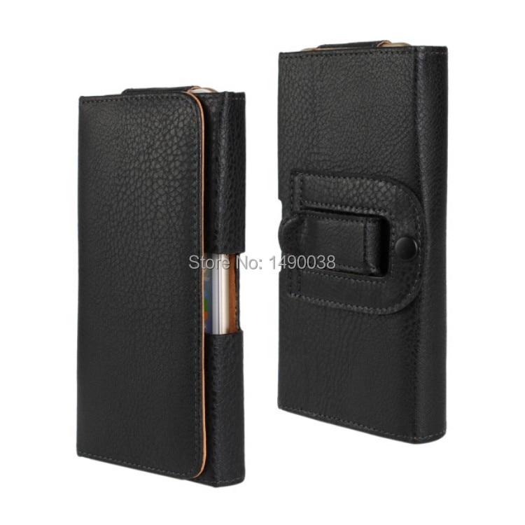 Terbaru Kasus Pinggang Holster PU Kulit Belt Clip Pouch Tutup Kasus - Aksesori dan suku cadang ponsel - Foto 3