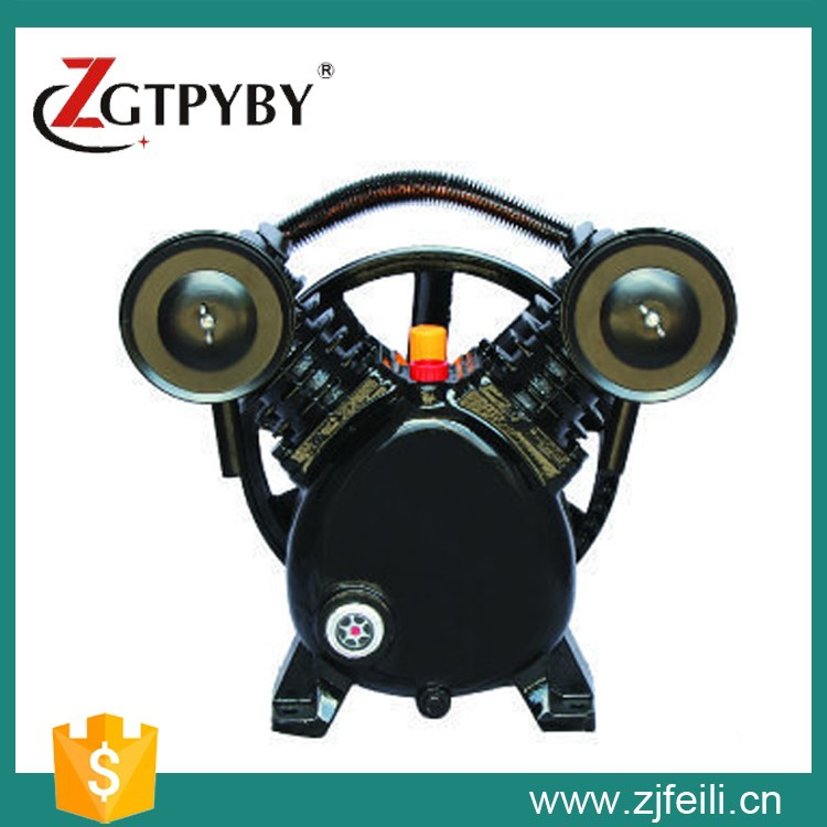V2065/12.5 electric two cylinder air compressor head exported to 58 countries piston air compressor head 3065