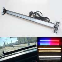 Windshield Led Car Flash Signal Emergency Fireman Police Beacon Car Truck High Power Bright Strobe Light Warning lamp for toyota