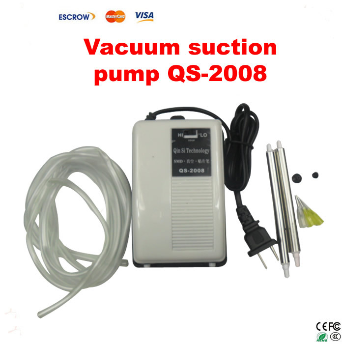 free shipping vac 12000 vacuum suction pump pen for bga repair ic smd pick up Free Shipping Vacuum Suction Pen QS-2008 For IC SMD Suction Pick Up