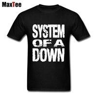 Sistema de bandas de Abrigos de plumas Soad camiseta hombres Impresión digital directa moda personalizado XXXL Eagles superar Rock metal música camiseta