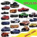 Специальный 1: 64 сплава автомобиля, скользящей машинки, 2.99/pc, симпатичные модели, детские игрушки автомобиля, бесплатная доставка
