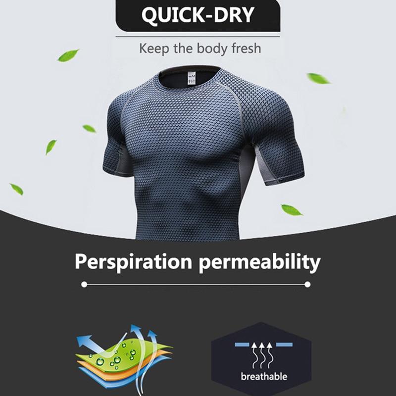 breathable men`s running t-shirt