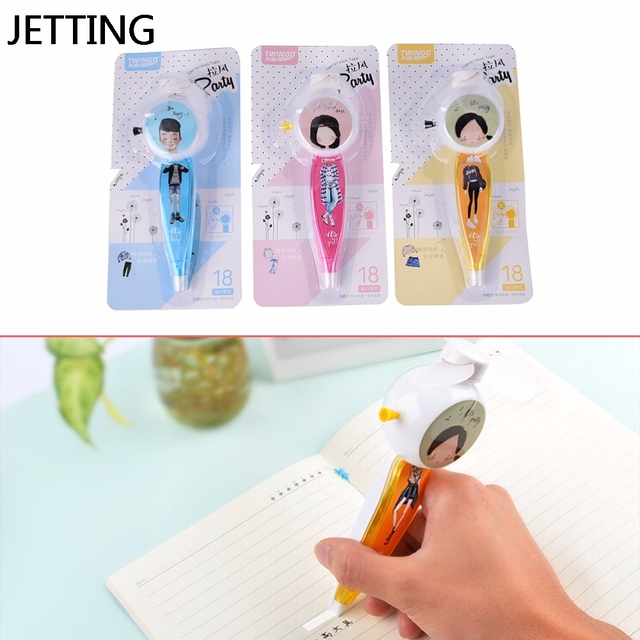 Jetting creative correction tape fan roller decorative white out jetting creative correction tape fan roller decorative white out school office supply stationery 1pcs 5mm publicscrutiny Gallery